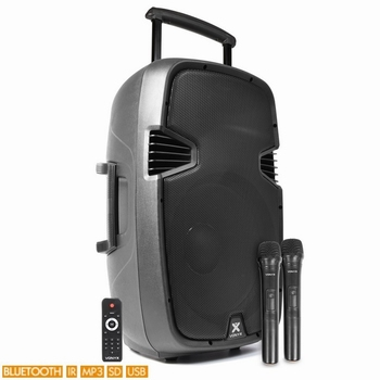 "Vonyx SPJ-PA915 Mobiele Geluidset 15""USB BT"