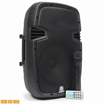 "SkyTec SPJ-PA908 Mobiele Geluidset ABS 8""  USB BT"