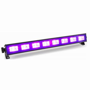 BeamZ BUV93 Bar 8x3W UV LED's