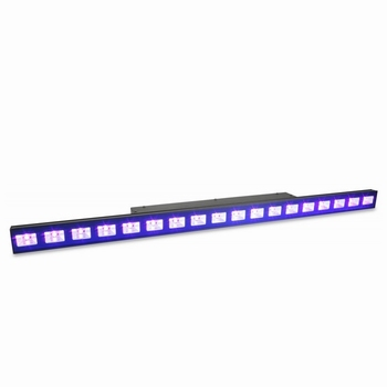 BeamZ LCB48 18x3 Watt UV LED Bar met DMX