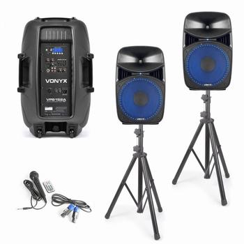 Vonyx VPS152A Plug & play 1000W Luidsprekerset