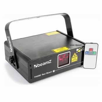 BeamZ Thebe Laser 150mW Rood Beam DMX IRC