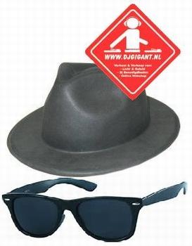 Combi deal hazes hoed + bril