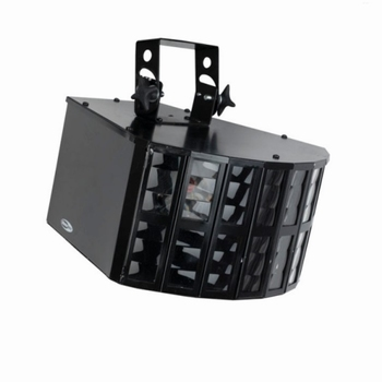 Showtec Dubbele 3 Derby LED Q6